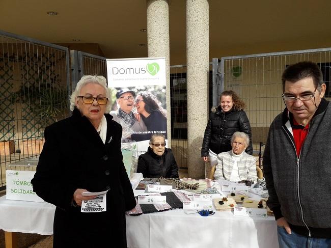 Mercadillo Solidario en DomusVi Ciudad de Badajoz