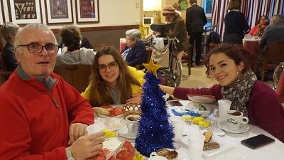 Merienda navideña DomusVi Santa Justa 7