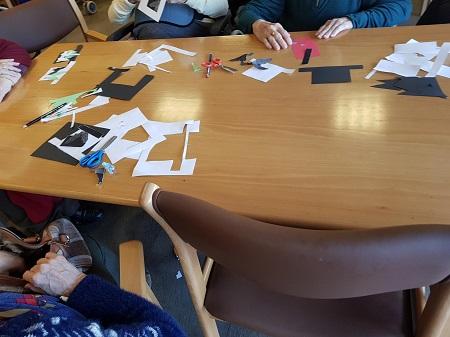 Trabajamos manualidades navideñas en DomusVi Alcalá de Guadaíra