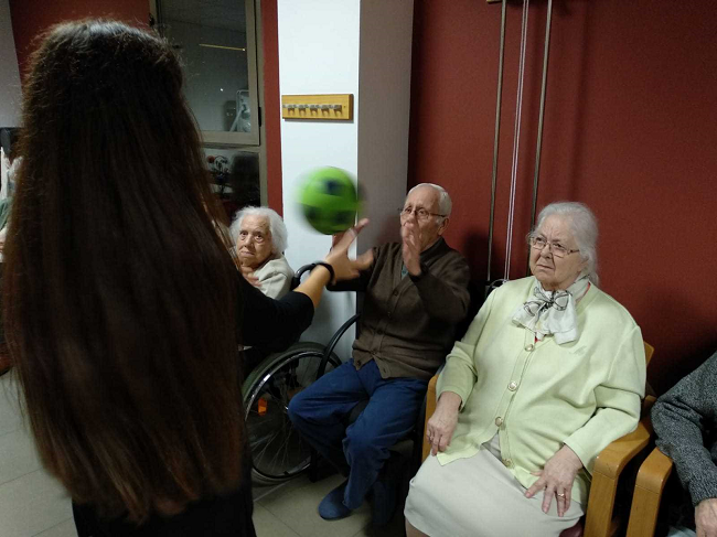 Trabajo Fisico en mayores