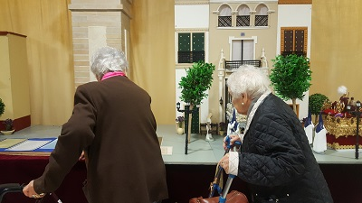 Visita Belen San Juan de Dios DomusVi Santa Justa 4