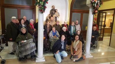 Visita Belen San Juan de Dios DomusVi Santa Justa 5