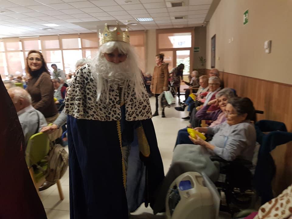 Visita de SSMM los Reyes Magos 2019