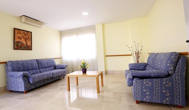 DomusVi Jardines de Lliria sala de estar