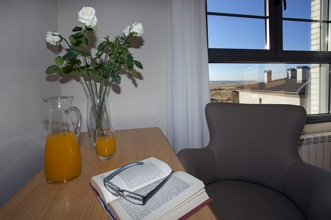 DomusVi Palencia habitación detalle