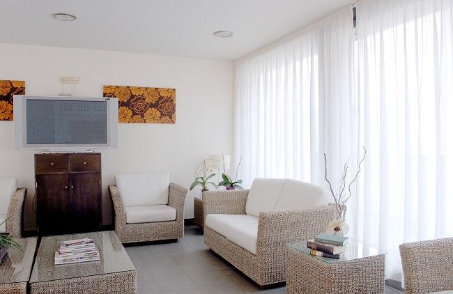 DomusVi Rio Vena sala de estar