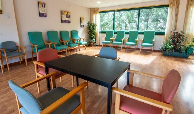 DomusVi Villaralbo sala de estar