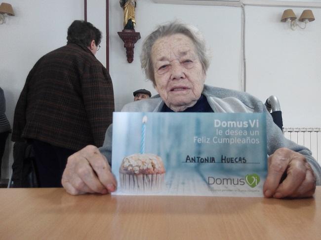 DomusVi Cumpleaños