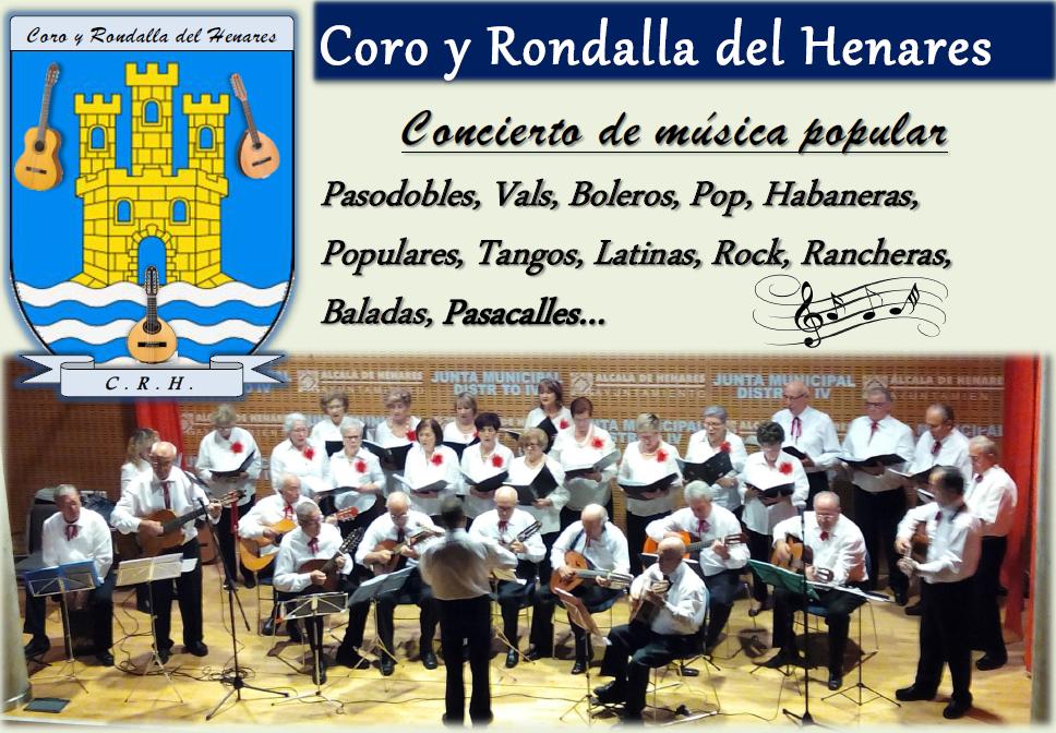 Coro y rondalla del Henares.