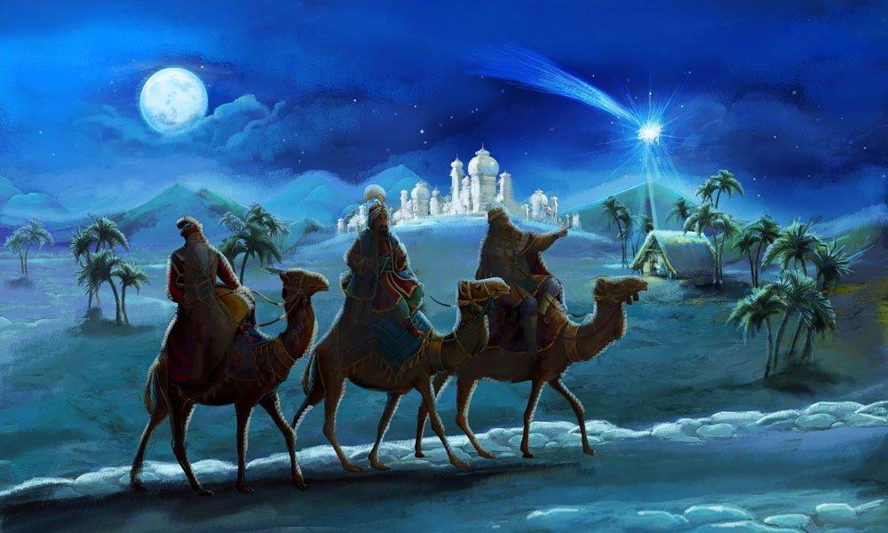 Reyes Magos visitan DomusVi Real Deleite