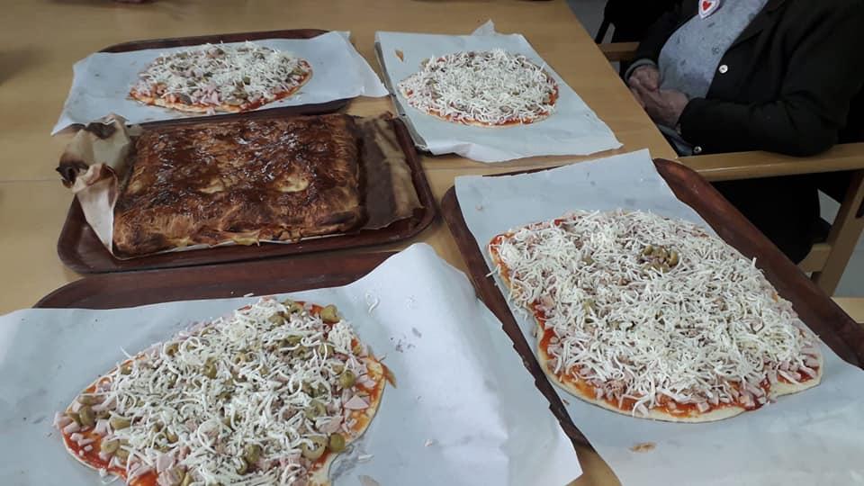 Taller de pizzas y hojaldre.