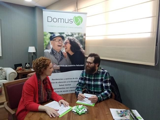 Convenio CODTS Badajoz con DomusVi Ciudad de Badajoz (1)