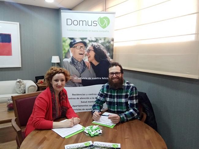 Convenio CODTS Badajoz con DomusVi Ciudad de Badajoz (2)
