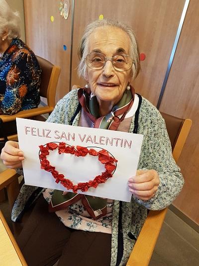 San valentin en DomusVi Alcalá de Guadaíra