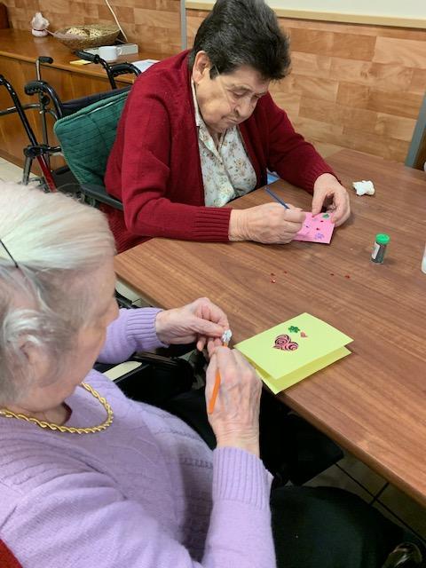 Taller de tarjetas de san valentín4