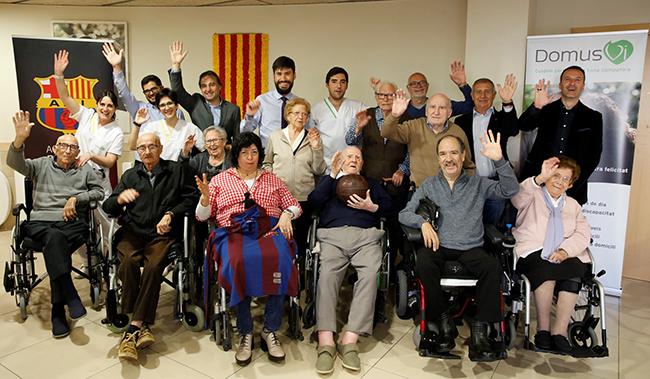 Taller de reminiscencia en Premià de Mar (Barcelona)