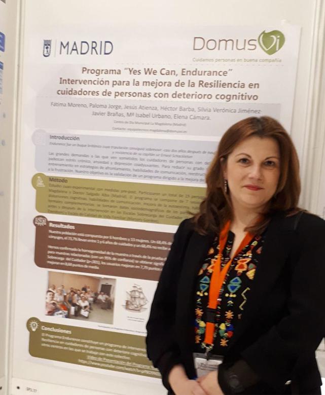 Centro de Día Municipal La Magdalena (Madrid), en el XI Congreso Nacional de Neuropsicología