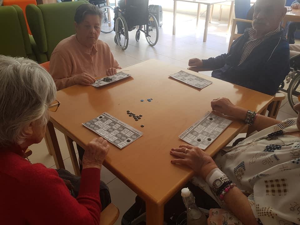 Bingo en DomusVi Alcalá de Henares