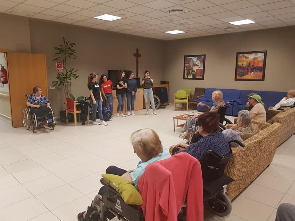Visita de la ONG REMAR
