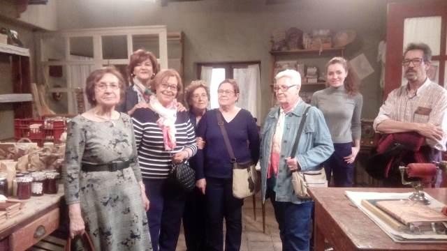 DomusVi Valdemoro visita plató de la serie el secreto de puente viejo (7)