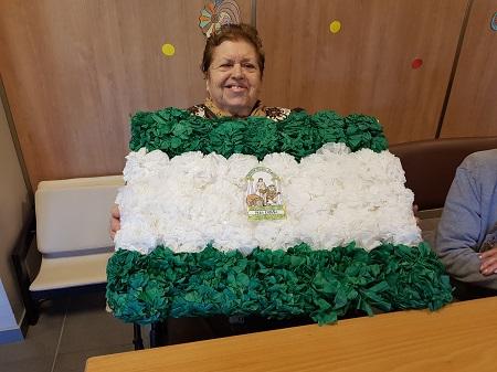 En DomusVi Alcalá de Guadaíra celebramos el día de Andalucía