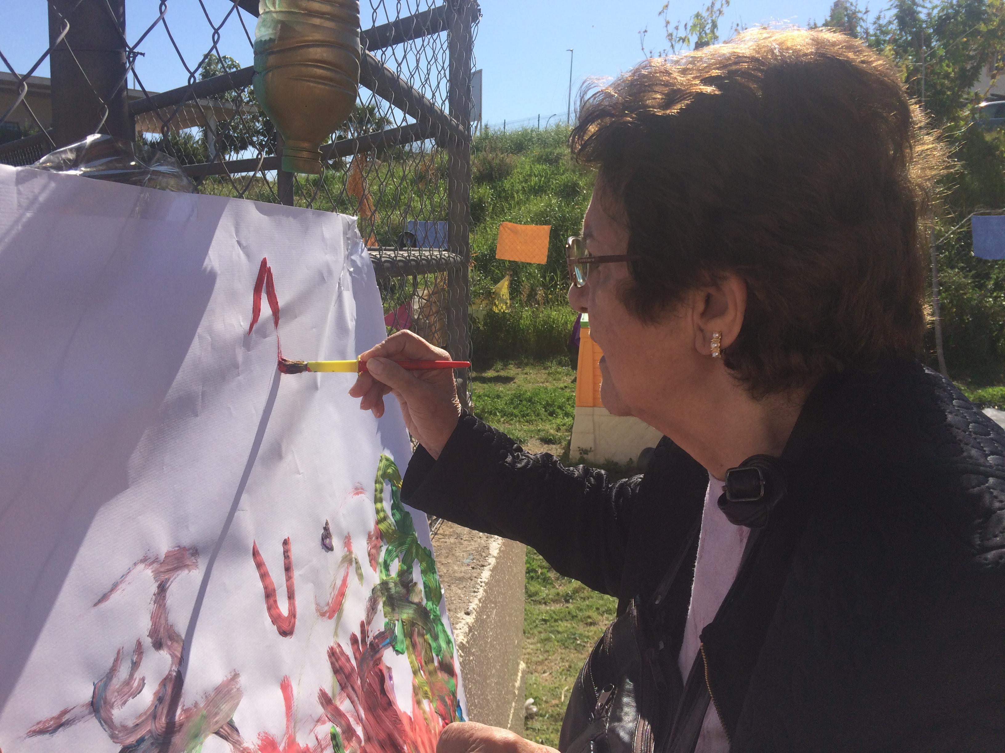 Día del arte y los mayores de DomusVi Fuentesol