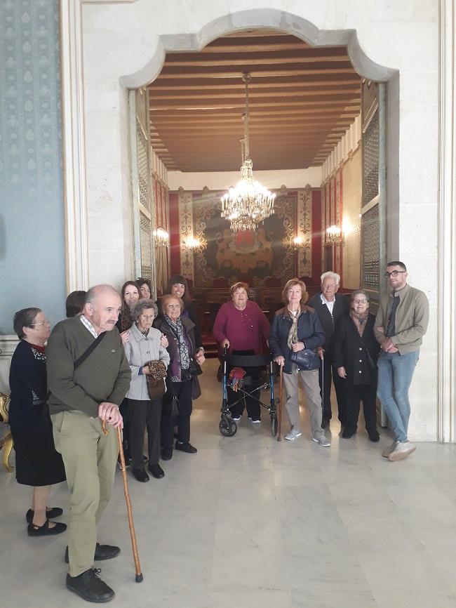 Visita Ayuntamiento Alicante - DomusVi Babel (3)