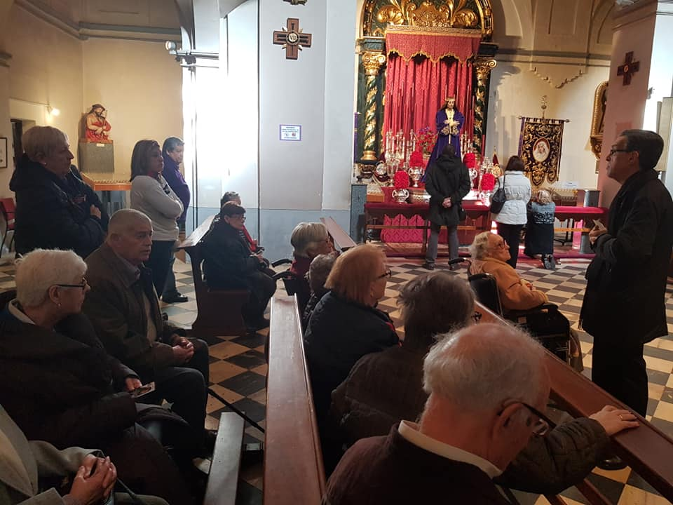 Visita Jesús El Pobre DomusVi Albufera y Alcalá de henares