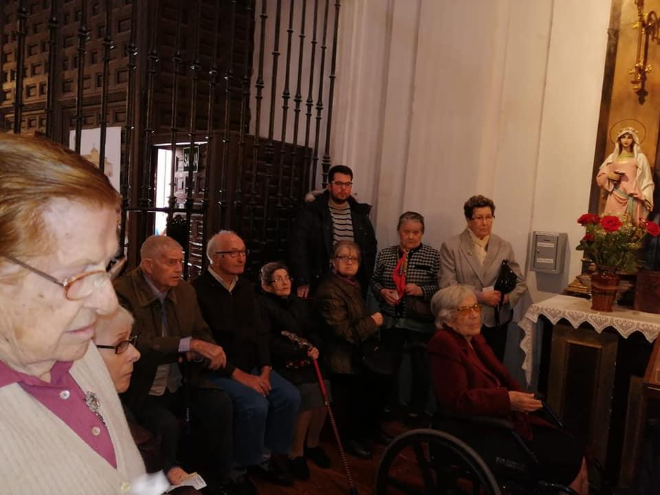 Visita Jesús El Pobre DomusVi Albufera y Alcalá de henares1