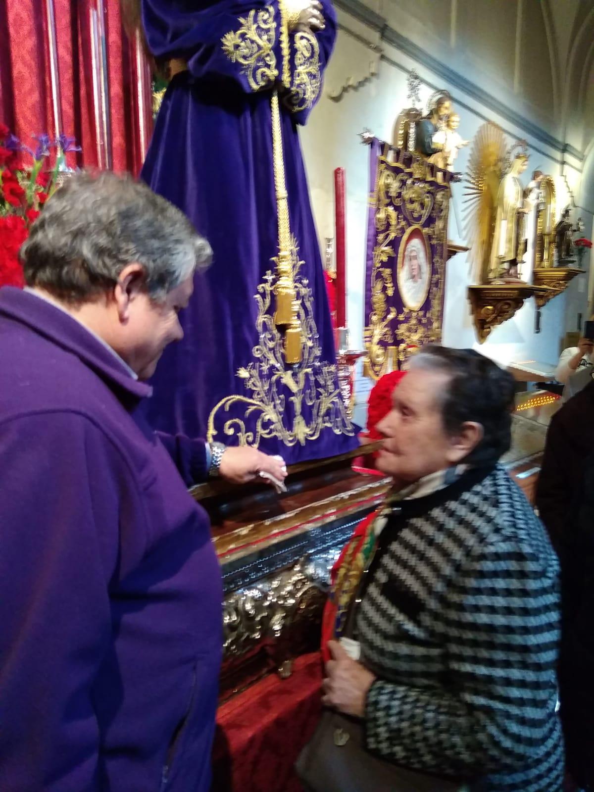 Visita Jesús El Pobre DomusVi Albufera y Alcalá de henares10