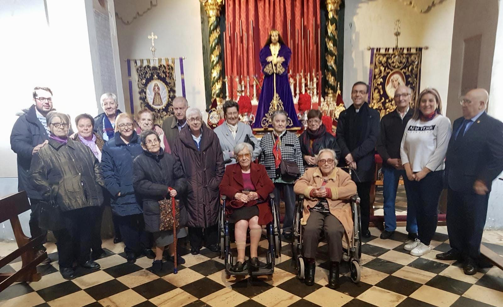 Visita Jesús El Pobre DomusVi Albufera y Alcalá de henares2