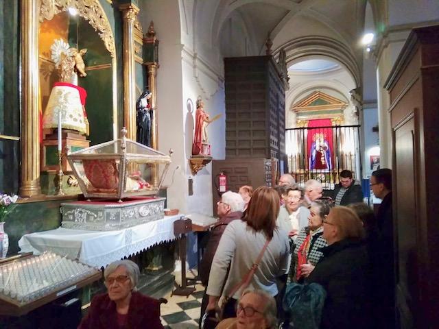 Visita Jesús El Pobre DomusVi Albufera y Alcalá de henares4