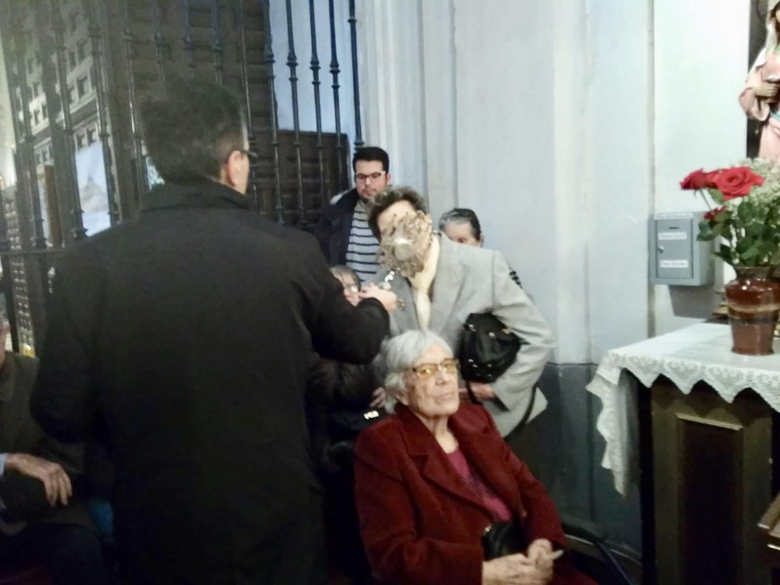 Visita Jesús El Pobre DomusVi Albufera y Alcalá de henares7