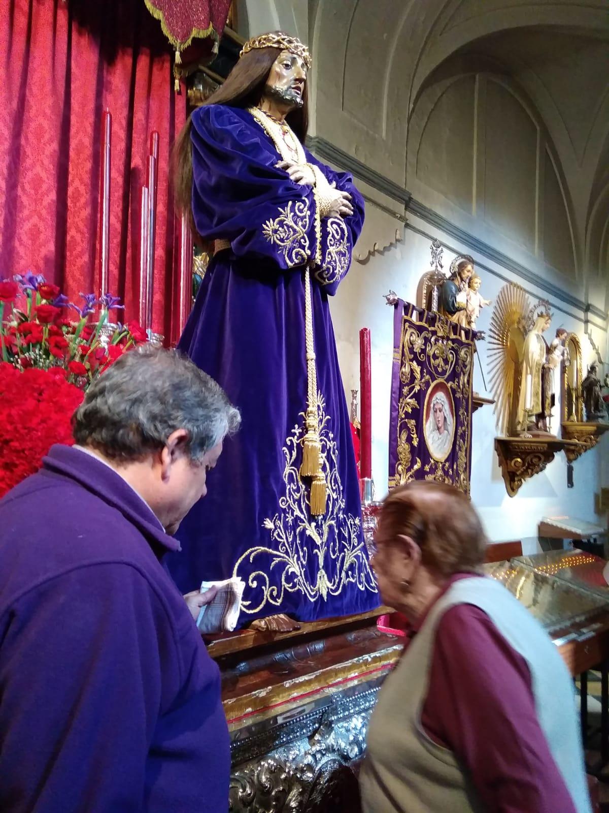 Visita Jesús El Pobre DomusVi Albufera y Alcalá de henares8