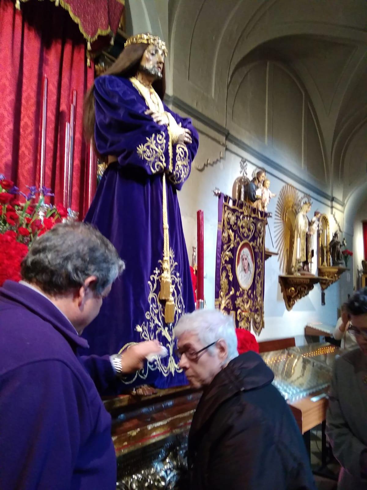 Visita Jesús El Pobre DomusVi Albufera y Alcalá de henares9