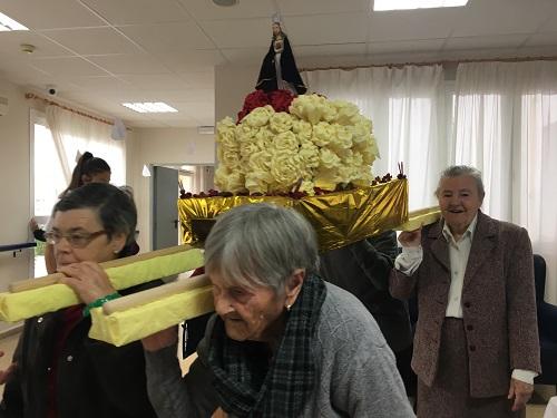 DomusVi Inmaculada Concepción - PrePaso de Semana Santa