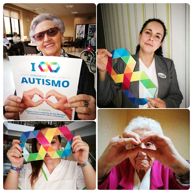 DomusVi Narón - Día Mundial Concienciación Autismo