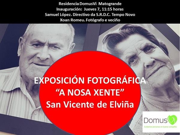 El centro de DomusVi Matogrande (A Coruña) promueve y acoge a artistas locales