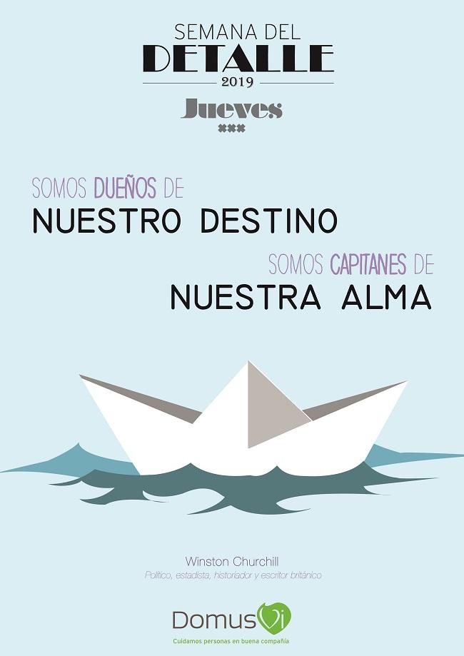 JUEVES - Semana del Detalle DomusVi 2019