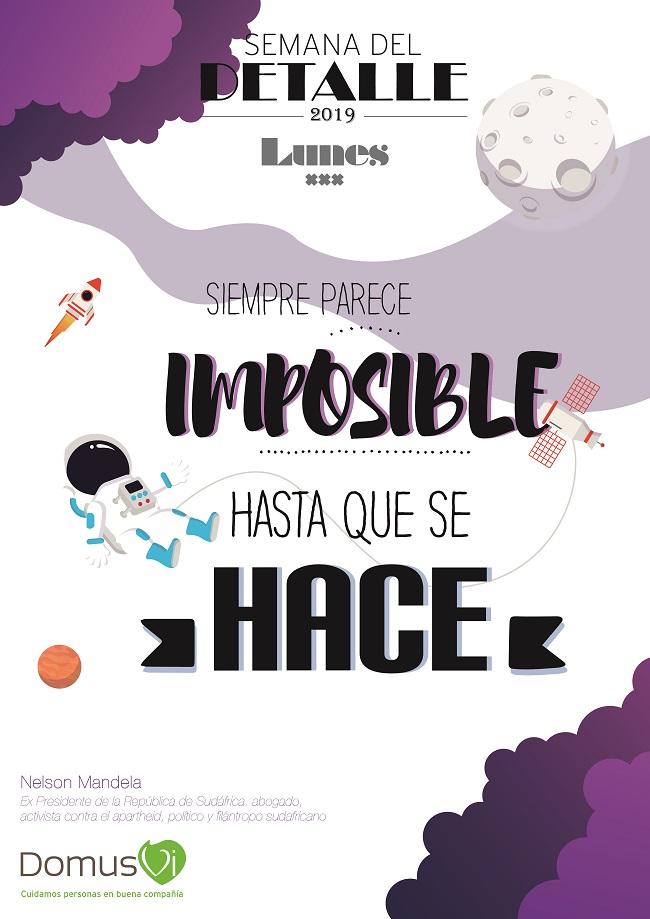LUNES - Semana del Detalle DomusVi 2019