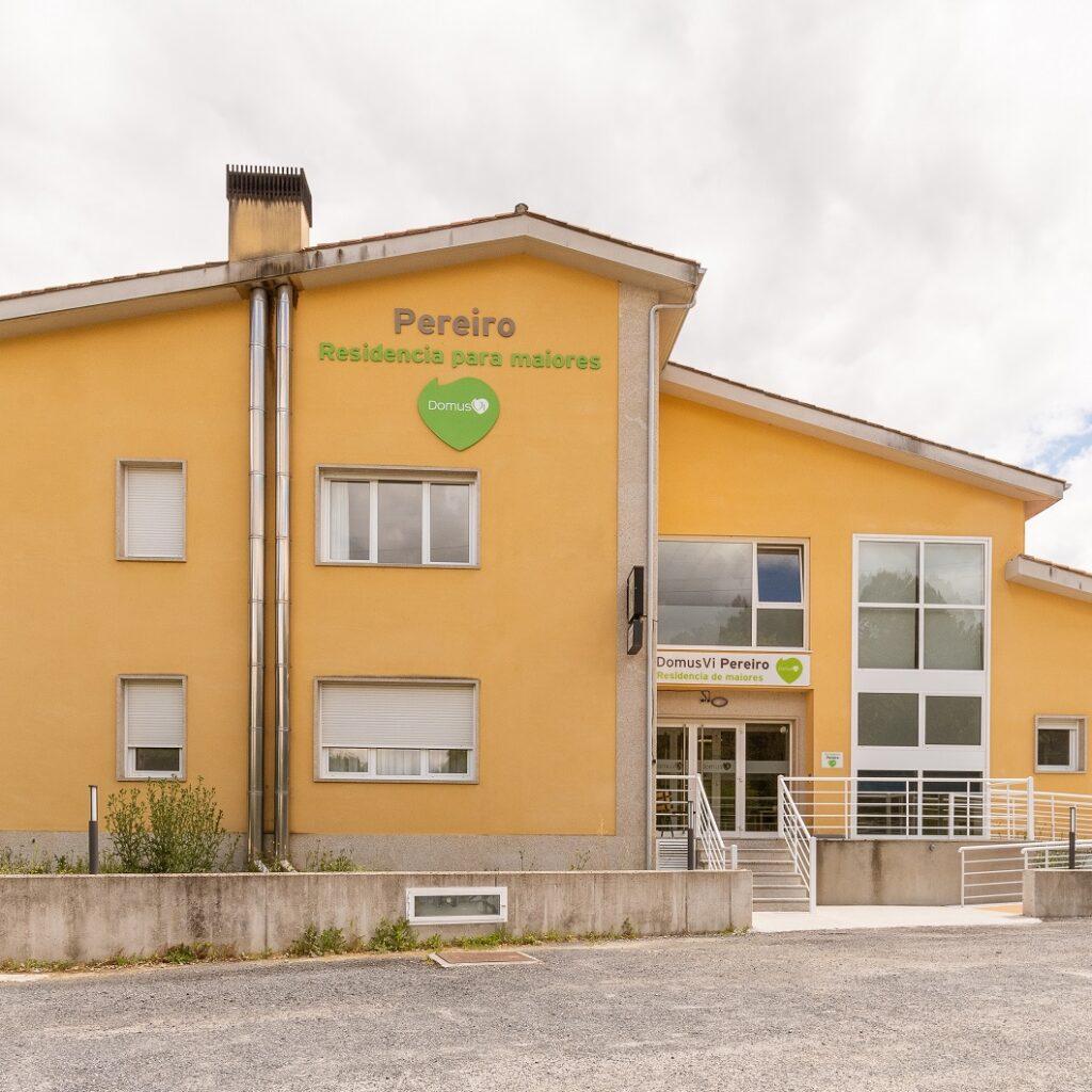 Residencia de mayores Pereiro Ourense Exterior