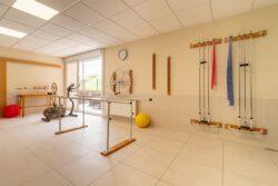 Residencia de mayores Pereiro Ourense Gimnasio