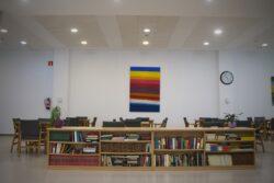 Residencia personas mayores Arandia Bilbao Biblioteca