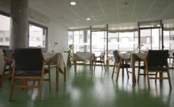 Residencia personas mayores Arandia Bilbao Comedor