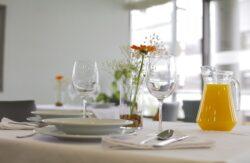 Residencia personas mayores Arandia Bilbao Comedor detalle