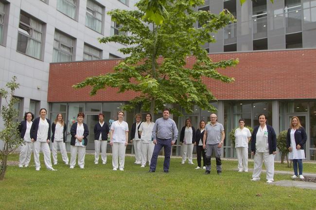Residencia personas mayores Arandia Bilbao Equipo