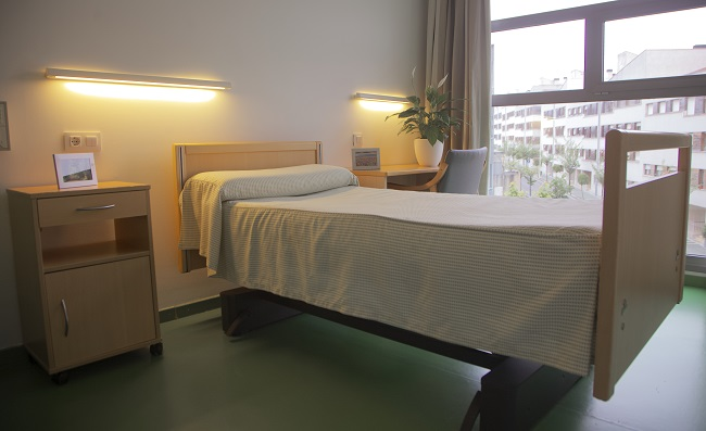 Residencia personas mayores Arandia Bilbao Habitación individual1