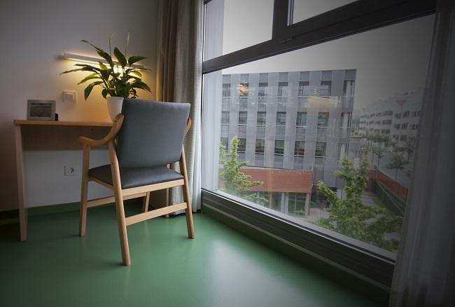 Residencia personas mayores Arandia Bilbao Habitación