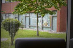 Residencia personas mayores Arandia Bilbao Jardín