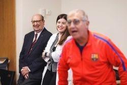 Taller leyendas FC Barcelona DomusVi Claret